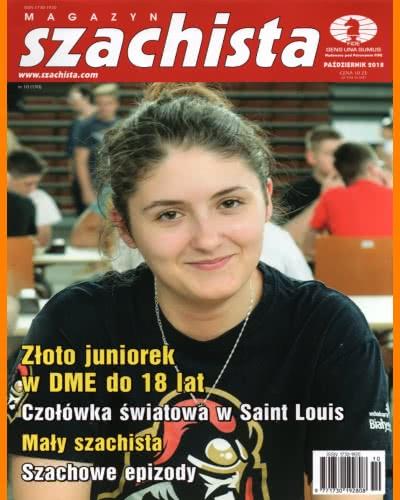 CHESS PERIODICALS :: Magazyn SZACHISTA (Polish Chess Monthly Magazine) Ms-2018-10