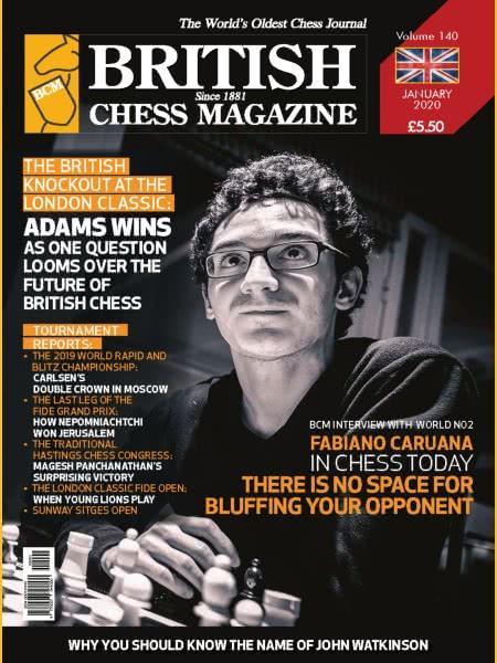 CHESS PERIODICALS :: British Chess Magazine Bcm-2020-01