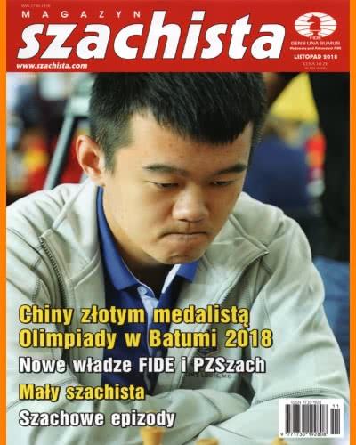 CHESS PERIODICALS :: Magazyn SZACHISTA (Polish Chess Monthly Magazine) Ms-2018-11