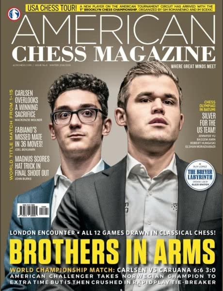 American Chess Magazine no. 9: Brothers in Arms Acm-2019-09