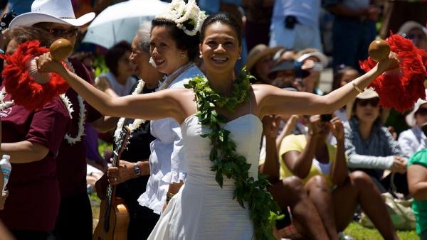 Гавайские праздники. Гавайская вечеринка. Гавайская магия. Гаваи ( кухня, танцы, мода ). 5135dc503fc49
