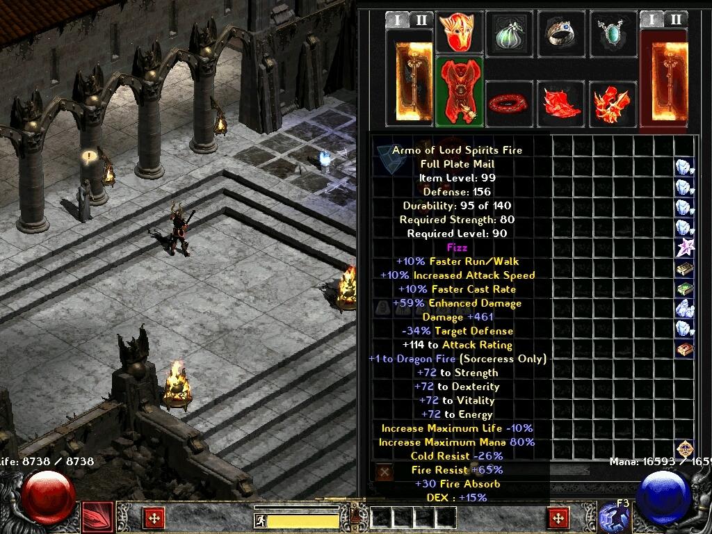 Trở lại tuổi thơ với phiên bản Diablo 2 mới do Team VietNam làm  Screen12