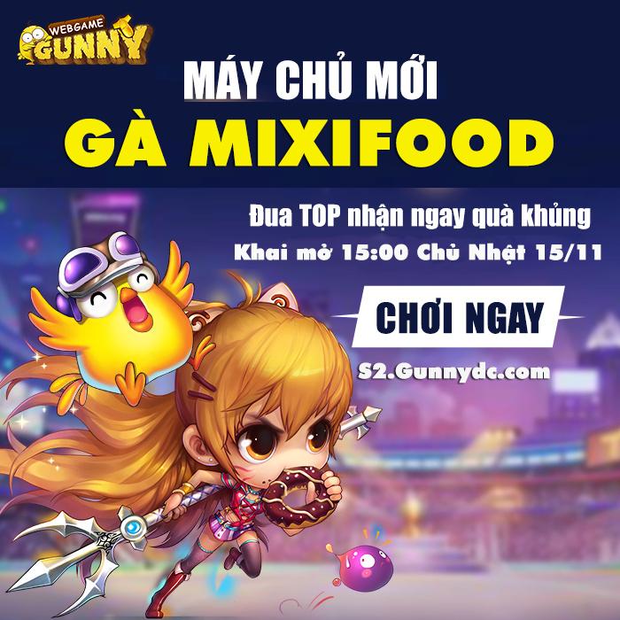 Gà MixiFood 5.5 độc và lạ Khai Mở vào 15:00 Ngày 15/11/2020 Quzeyz10