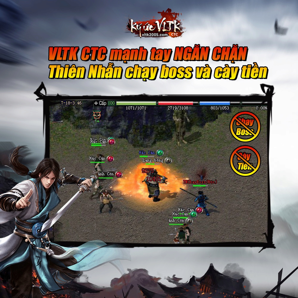 [VLTK2005.COM] Ký Ức VLTK CTC - Khai Mở Máy Chủ Hoa Sơn - 19H 14.01.2019 - Chuẩn CTC 510
