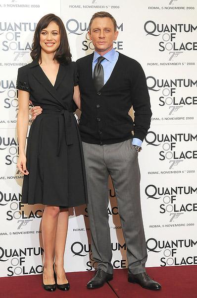 ¿Cuánto mide Daniel Craig? - Altura - Real height 06.1_OlgaKurylenko_DanielCraig