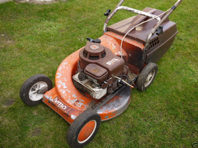 1978 Flymo DXL Lawnmower Project RRPzk