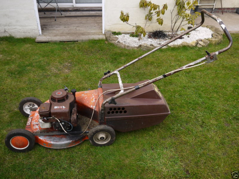 1978 Flymo DXL Lawnmower Project RRY8y