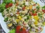 boulgour aux légumes et crustacés, frais.photos. Boulgour_aux_legumes_et_crustaces_frais_001