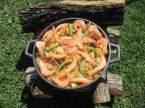 """Paella aux fruits de mer et poissons """"maison jardin"""" + photos. Paella_aux_fruits_mer_et_poissons_maison_001"""