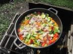 """Paella aux fruits de mer et poissons """"maison jardin"""" + photos. Paella_aux_fruits_mer_et_poissons_maison_011"""