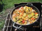 """Paella aux fruits de mer et poissons """"maison jardin"""" + photos. Paella_aux_fruits_mer_et_poissons_maison_015"""
