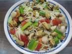 Spaghettis aux légumes. crustacés + photos. Spaghettis_aux_lgumes_crustacs_009