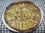 Tarte aux pommes sur une confiture de mirabelles +photos. Tarte_aux_pommes_sur_une_confiture_de_mirabelles_009