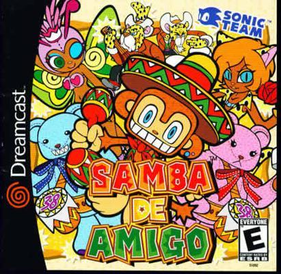 JOURNEE 31 : VOTEZ POUR LE PLUS BEAU COVER DREAMCAST ! Samba-de-amigo.387541