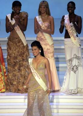 Katarzyna Weronika Borowicz - Miss Earth Water 2005 (Poland) Final