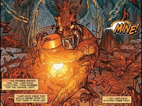 The Book of Larfleeze [par STARGRAVE, P. Plon. Okaara, 2020, 1p.] 0