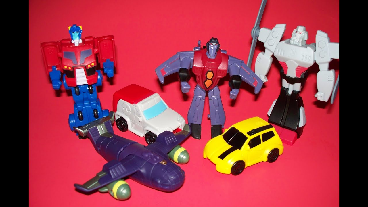 Transformers chez McDonalds - Happy Meals / Joyeux Festins Maxresdefault