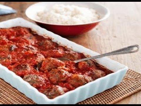 طريقة عمل كرات اللحم والباذنجان المدخن مع صلصة الطماطم Hqdefault