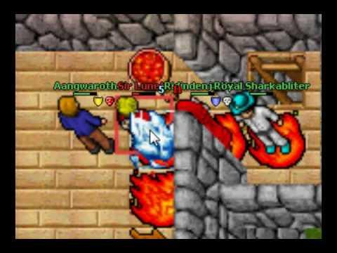 Tibia, un MMORPG en 2D 0