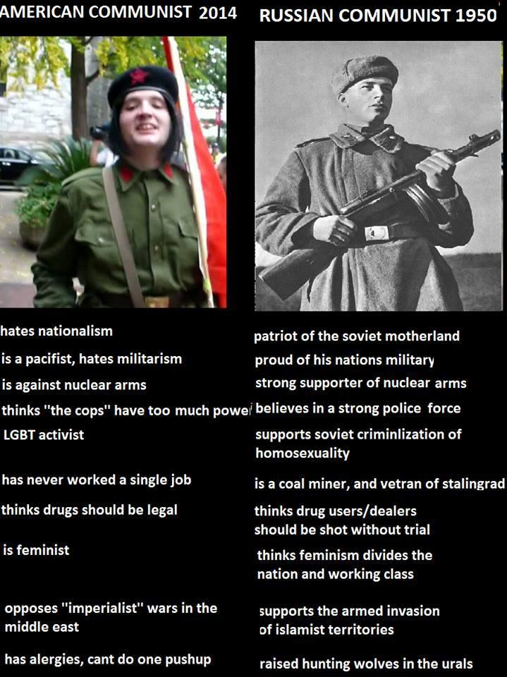 Communists - then and now 8bc