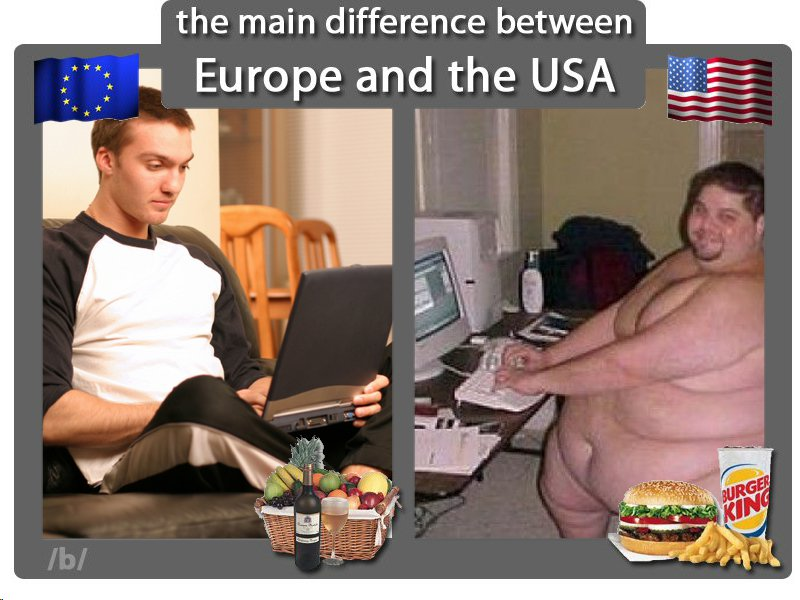 Europe vs USA F40