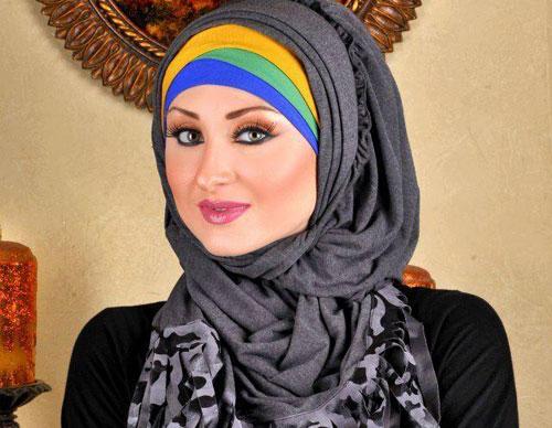 أحدث وأجمل لفات حجاب بسيطة وأنيقة 7hob.com1366001793041