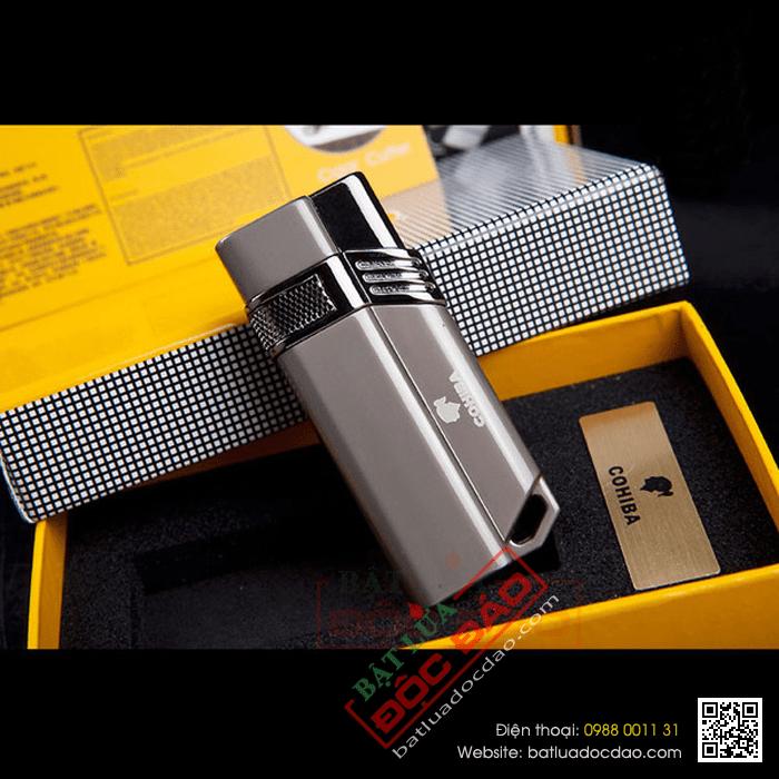 Bật lửa hút cigar 1 tia lửa khò Cohiba H063 1446001323-bat-lua-hut-cigar-chinh-hang-h063-03