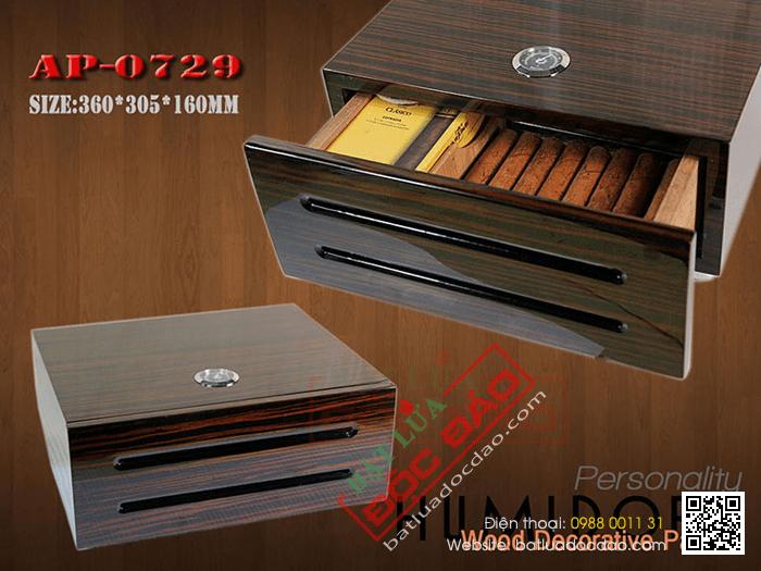Quà tặng cao cấp cho sếp: hộp giữ ẩm xì gà Humidors ap0729 1452245164-hop-bao-quan-cigar-hop-giu-am-cigar-humidor-ap-0729-2