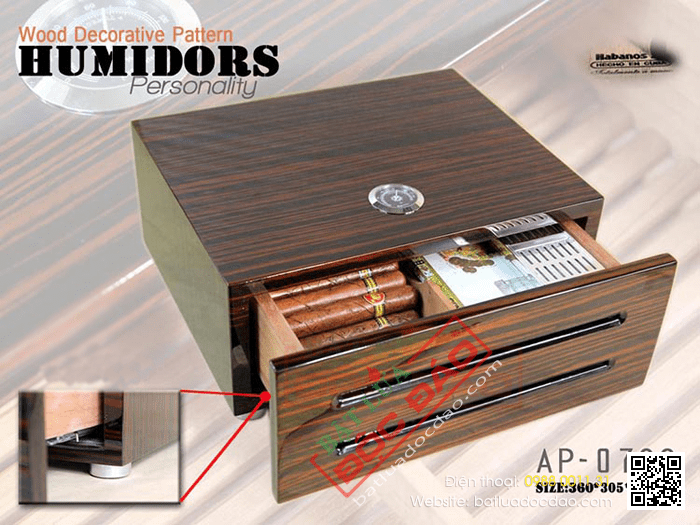 Quà tặng cao cấp cho sếp: hộp giữ ẩm xì gà Humidors ap0729 1452245164-hop-bao-quan-cigar-hop-giu-am-cigar-humidor-ap-0729-4