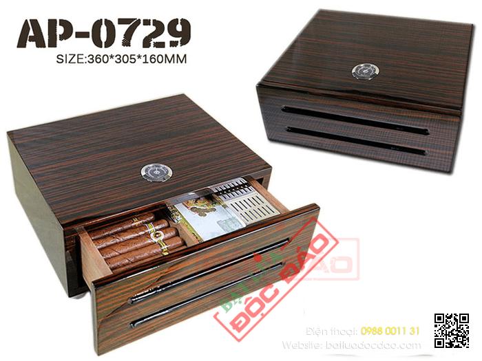 Quà tặng cao cấp cho sếp: hộp giữ ẩm xì gà Humidors ap0729 1452245164-hop-bao-quan-cigar-hop-giu-am-cigar-humidor-ap-0729-5
