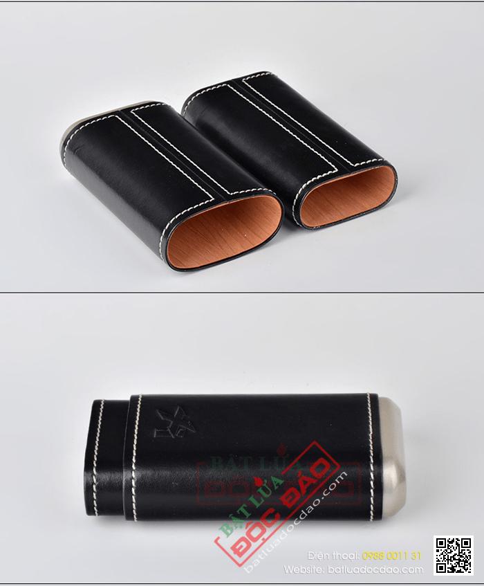 Địa chỉ bán phụ kiện xì gà chính hãng trên toàn quốc (249BK) 1452743493-bao-da-dung-xi-ga-bao-da-dung-cigar-xikar-243bk-3