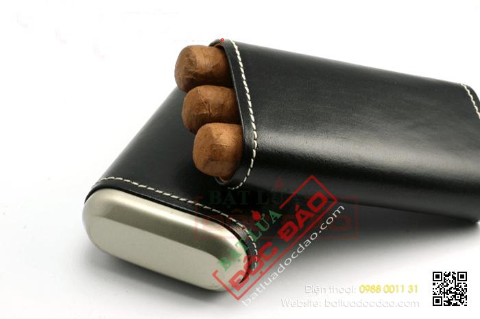 Địa chỉ bán phụ kiện xì gà chính hãng trên toàn quốc (249BK) 1452743493-bao-da-dung-xi-ga-bao-da-dung-cigar-xikar-243bk-4