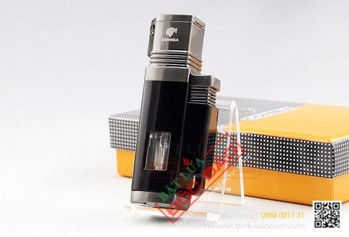 Giá bật lửa xì gà, bật lửa khò 4 tia Cohiba H092? 1462928586-bat-lua-cigar-cohiba-hop-quet-cigar-cohiba-bat-lua-kho-xi-ga-cohiba-2
