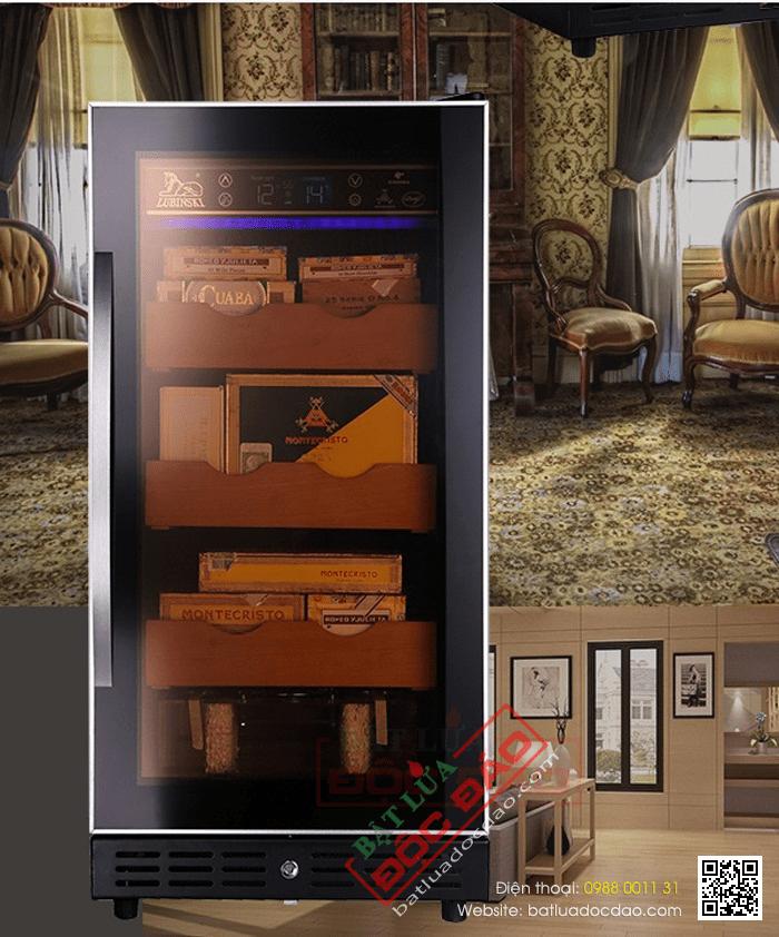 Bán tủ bảo quản xì gà cao cấp Lubinski cắm điện RA777 1474251474-tu-bao-quan-xi-ga-cigar-cam-dien-tu-giu-am-xi-ga-ra-7771-3