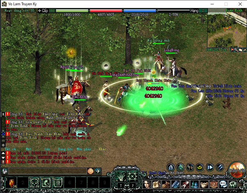 Đại Chiến Võ Lâm - Server CTC đồ xanh + 1 món hkmp 2 acc/pc Screenshot_2