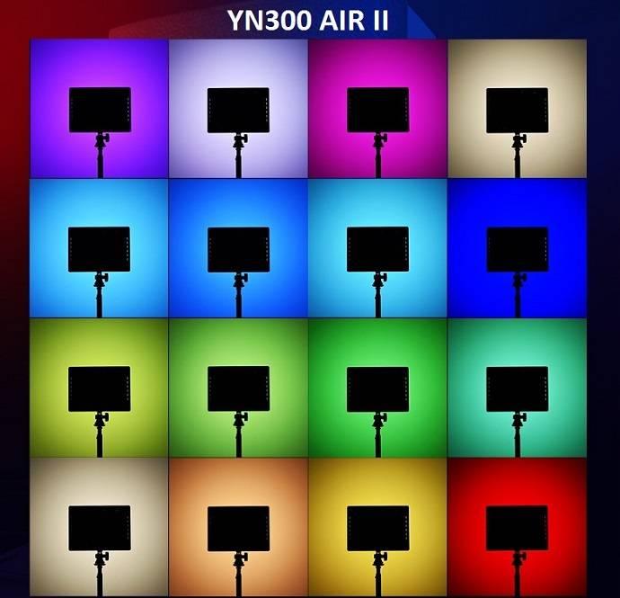 Đèn Yongnuo YN300Air II RGB Den-led-Yongnuo-YN300AIR-II-RGB-3
