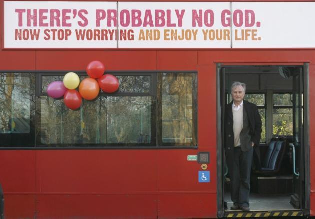 The 'Jesus is a myth' myth Dawkins-bus-advert