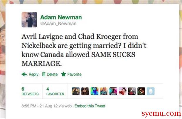 Otros artistas opinan sobre Avril Lavigne - Página 6 Same-sex-marriage-funny-tweet