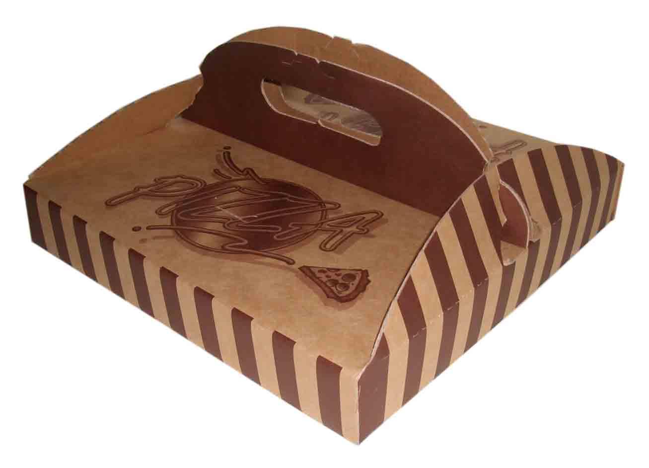 "Caixa para pizza ""top"" Pizza_Box_Paper_Box_Kraft_Box"