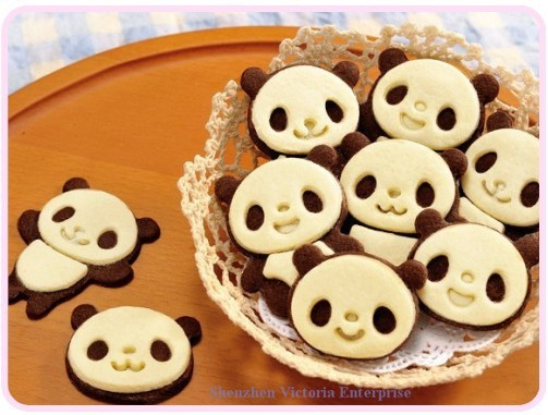 [Tradition] Saint Valentin /  White Day Kawaii-font-b-Panda-b-font-font-b-Cookie-b-font-Bake-font-b-Shape-b