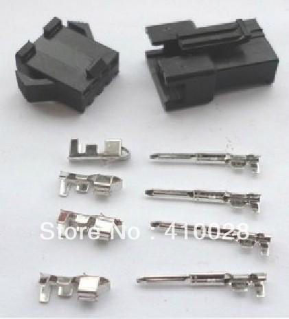 ¿Con qué herramienta se crimpan los terminales? 1000-Sets-JST-2-54-mm-SM-4-Pin-4-Way-multipolar-enchufe-conector-con-ternimal