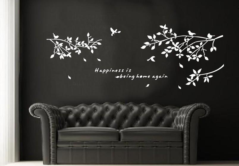chambre parentale cocooning=>peinture+aménagement - Page 2 -Minimum-Order-10-75-150cm-White-branches-bird-Removable-Wall-Vinyl-Sticker-Decals-font-b
