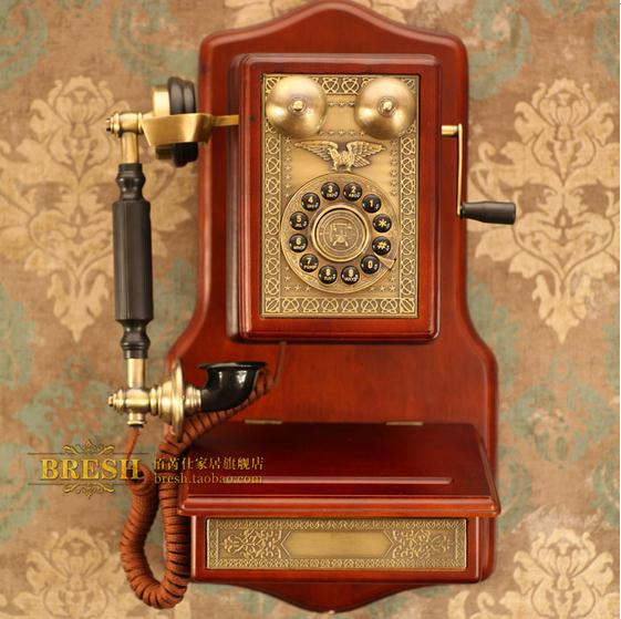 Stari telefoni - Page 2 Free-shipping-Paramount-European-antique1907-WOODEN-WALL-font-b-retro-b-font-Decorative-Telephone-Replica-Vintage