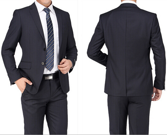 Rama Yade contre le voile - Page 2 High-Quality-Slim-Fit-Dark-Blue-Stripe-font-b-Pattern-b-font-Blazer-Men-Dress-font