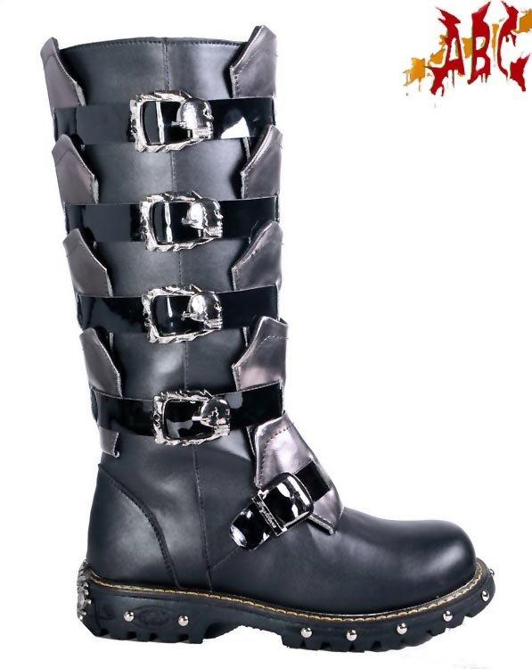 Kierian McMannis' Wind Alchemy PUNK-ABC-ROCK-BAND-super-cool-BOOTS-for-men-punk-shoes-gothic-shoes-style-NO-711X010