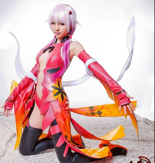 Cosplay au Japon. Le best of!!! - Page 3 Guilty-Crown-GC-Yuzuriha-Inori-full-set-Fancy-cosplay-costume-suit-Free-Shipping-Leather-Dress-Sexy