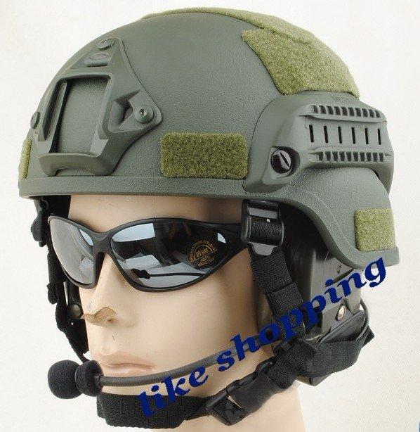 ¿Nuevo casco de la SEDENA? Tactical-helmet-Mich-2002-Helmet-with-NVG-Mount-ARC-Rail-OD-free-shipping