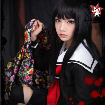 Cosplay au Japon. Le best of!!! - Page 2 Cosplay-anime-Hell-Girl-costume-Jigoku-Shojo-font-b-prom-b-font-dresses-sexy-font-b