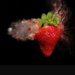 High Speed Photography: Strawberry Pictures, Images and Photos