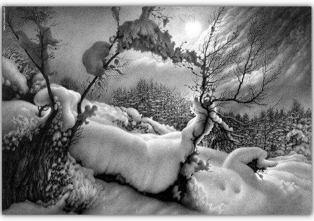Снег, согревающий душу (Доленджашвили Г.) Dacff73258d0